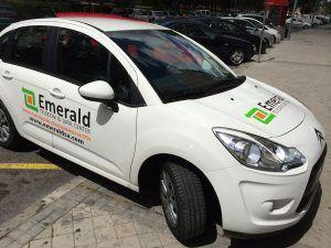Automóvil-de-emerald