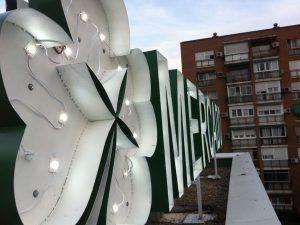 Rotulación córporea con luz