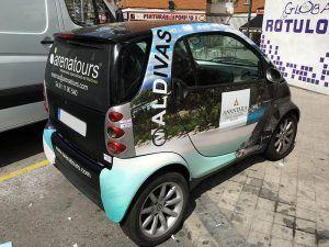 Global Rótulos vehículo con rotulación