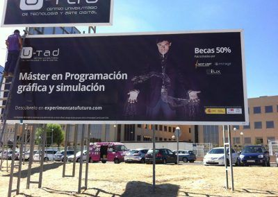 Publicidad de U-tad