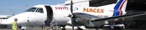 Rotulación córporea en avioneta